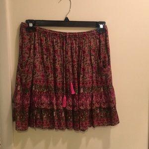 Spell Kombi Spice Mini Skirt